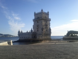Port and Castle in Belem